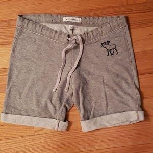 Girls Abercrombie Grey Shorts